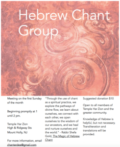Chant group