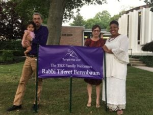 Rabbi Tiferet Berenbaum's family